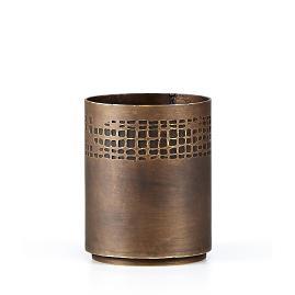 Labrazel Scrim Bronze Waste Basket