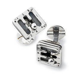 Moving Gear Shifter Cufflinks