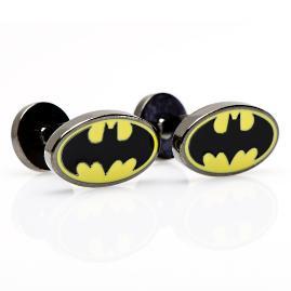 Batman Enamel Oval Cufflinks