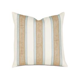 Charleston Border Stripe Decorative Pillow