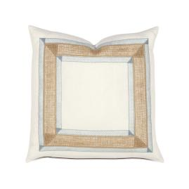 Charleston Bordered Decorative Pillow