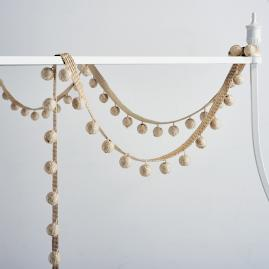 Badu Ball Canopy Bed Garland