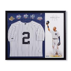Derek Jeter NY Yankees Jersey Career Tribute