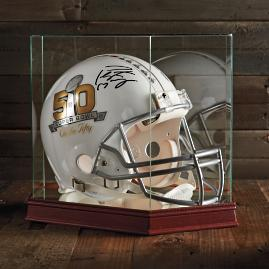 Peyton Manning Signed Super Bowl 50 Helmet with