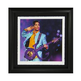 Prince Purple Rain Fine Art Photograph Framed