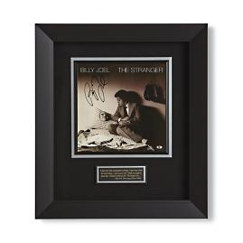 Billy Joel Autographed The Stranger Album Flat Framed