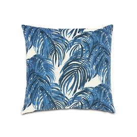 Malia Cobalt Knife Edge Decorative Pillow