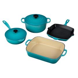 Le Creuset 6-pc. Signature Cast Iron Set