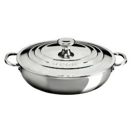 Le Creuset Tri-ply Stainless Steel 5-qt. Braiser with