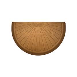 WellnessMats® Sunburst Half-Round Mat