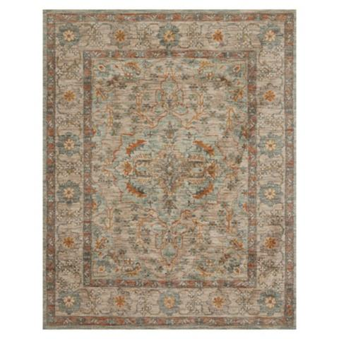 Roxie easy care rug frontgate for Easy rugs