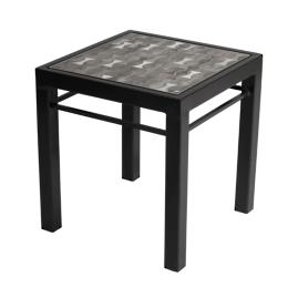 Galena Midnight Modern Side Table
