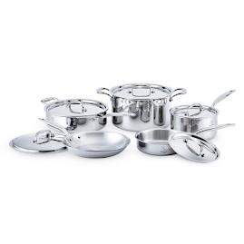 Hammer Stahl 7 Ply Stainless Steel 10-piece Set