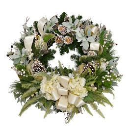 Jenara Hydrangea Wreath