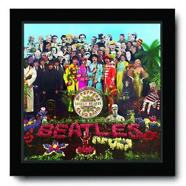 The Beatles 3D Sgt Pepper Album Cover Acrylic