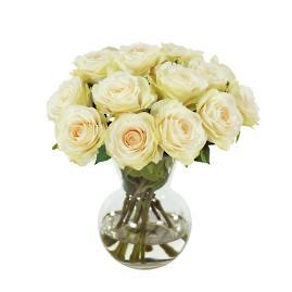 Garden Rose in Vase