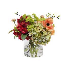 Ranunculus and Anemone in Vase