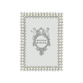 Olivia Riegel Crystal & Pearl Frame