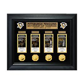 Pittsburgh Penguins 2017 Champions Ticket Collage