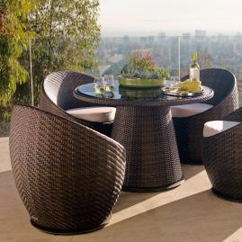 Set of Two Salima Swivel Chairs