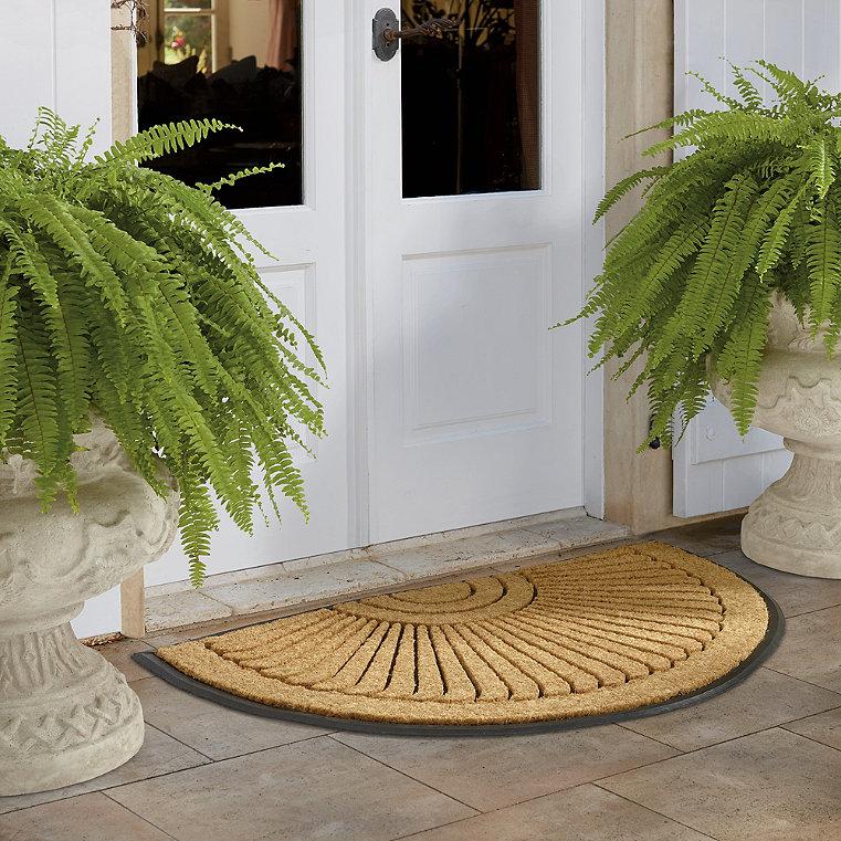 Polypropylene door mats frontgate for Outdoor doormats