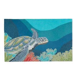 Swimming Sea Turtle 5' x 8' Outdoor Area