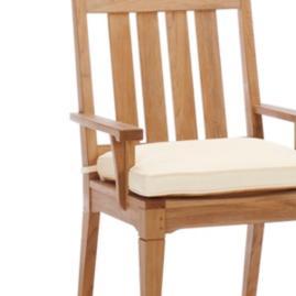 San Luca Dining Arm Chair Cushion