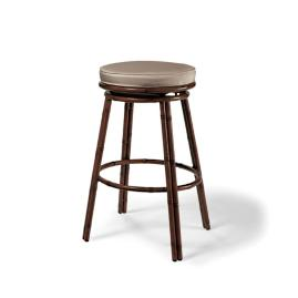 St. Martin Tiki Bar Stool with Cushions