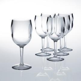12 oz. Wine Glasses, Set of Six