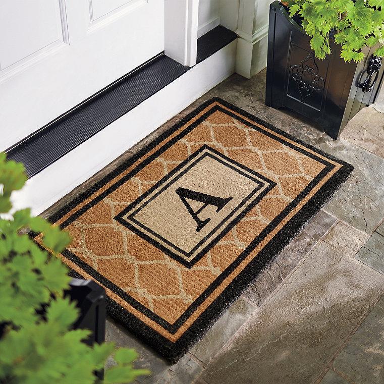 Coir Outdoor Door Mat Frontgate