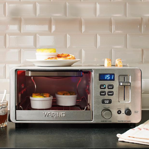 Waring Digital Toaster Oven With Toaster Frontgate