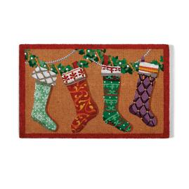 Designer Stockings Coco Door Mat