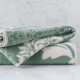 Blythe Two-tone Damask Bath Towel
