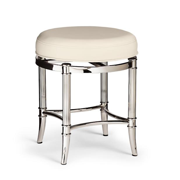 Bailey Vanity Stool Frontgate