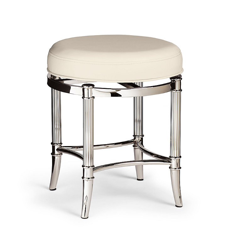 Plated Stainless Stool Frontgate