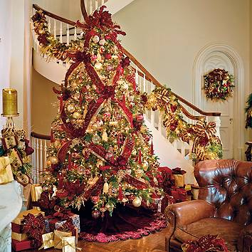 Christmas tree ornaments christmas tree decorations How to decorate a christmas tree with large ornaments