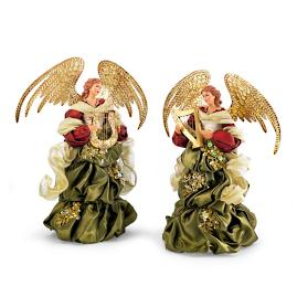 Mark Roberts Florentine Standing Angels, Set of Two
