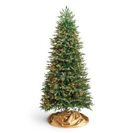 Fraser Quick Light Slim Artificial Christmas Tree