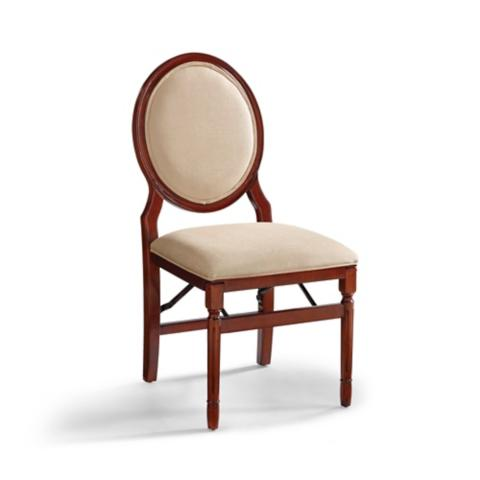 Oval Back Folding Chairs Set Of Two Frontgate