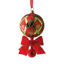 Holiday Trellis Ornaments, Set of Four