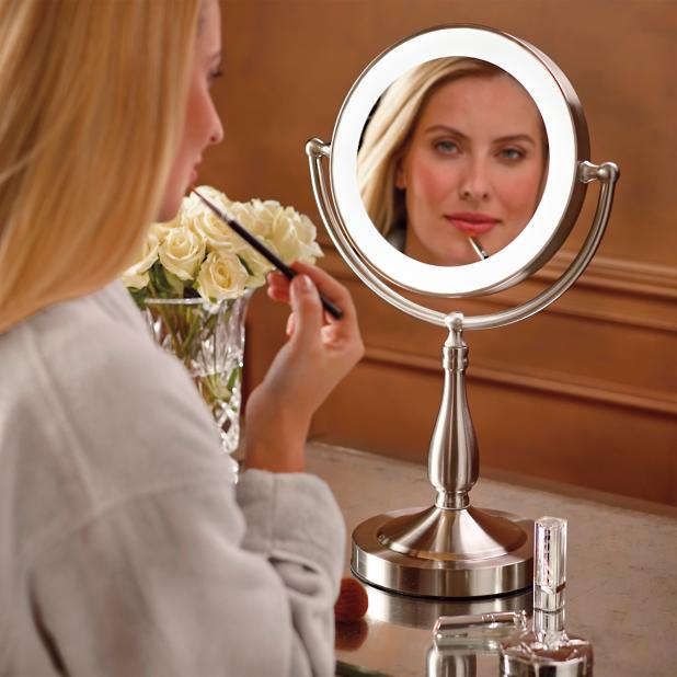 Smart Touch Lighted Vanity Mirror Frontgate