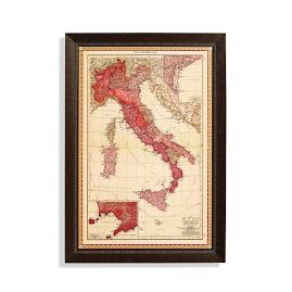 Italy Travel Map