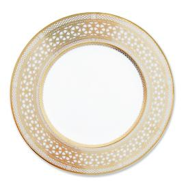 Caskata Hawthorne Gilt Dinner Plate