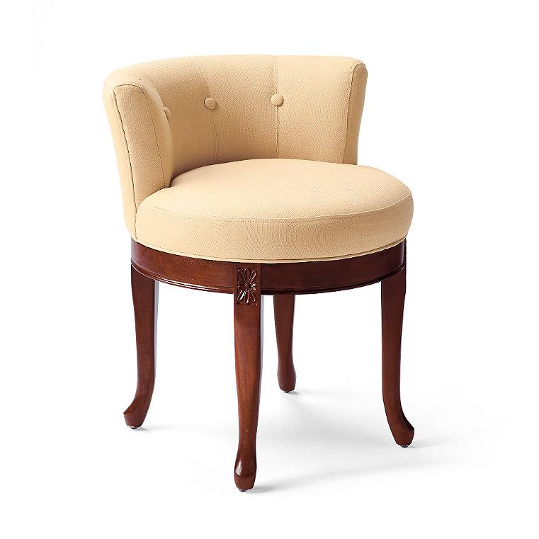 Elegant swivel chair frontgate - Elegant vanity stools ...
