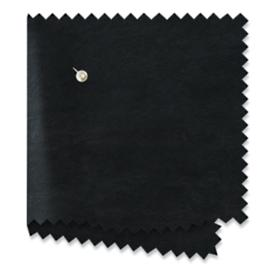 Raven Black Leather Swatch