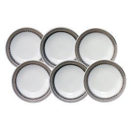 Caskata Hawthorne Ice Petite Condiment Dishes, Set of