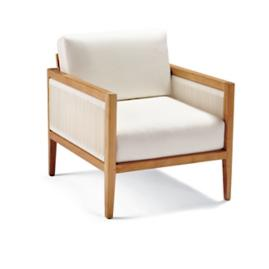 Brizo Lounge Chair with Cushions by Porta Forma