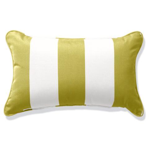 Outdoor Lumbar Pillow With Piping