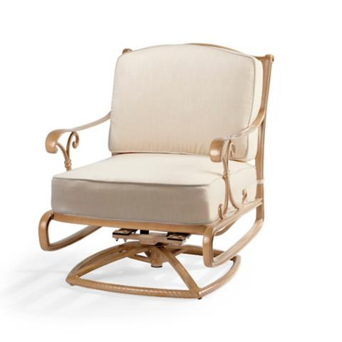 orleans swivel rocking lounge chair with cushions in biscayne finish - Swivel Rocker Chair