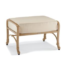 Orleans Ottoman with Cushion in Biscayne Finish